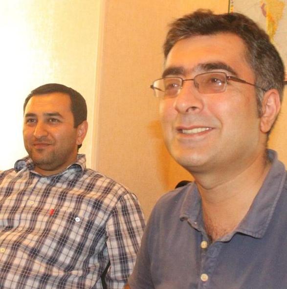 Anar Mammadli and Bashir Sulemanli