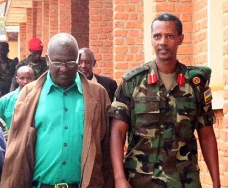 Tom Byabagamba and Frank Rusagara